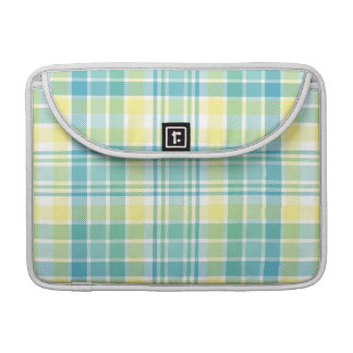 Pastel Plaid Sleeve For MacBook Pro