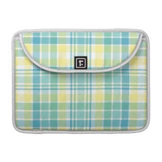 Pastel Plaid Sleeves For MacBooks