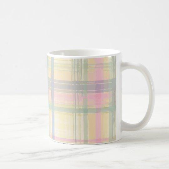 Pastel Plaid Tall Mug