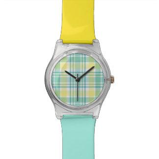 Pastel Plaid Watch