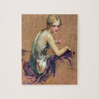 Pastel Portrait Jigsaw Puzzle