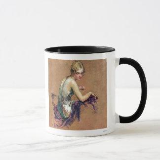Pastel Portrait Mug