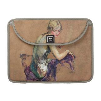 Pastel Portrait Sleeve For MacBook Pro