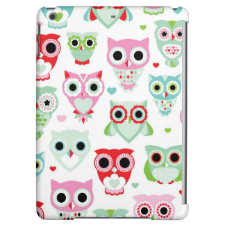pastel powder color owl background