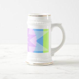 pastel pretty stars coffee mugs