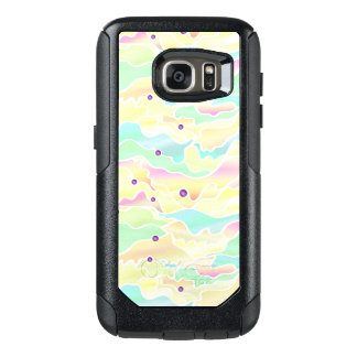 Pastel Psychedelic Seascape Abstract OtterBox Samsung Galaxy S7 Case