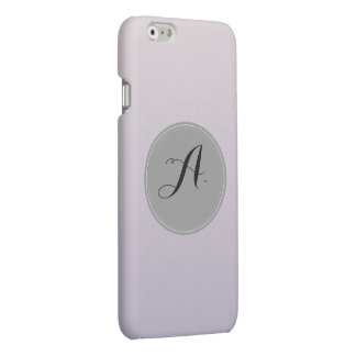 Pastel Purple Alphabet. A. iPhone 6 Plus Case