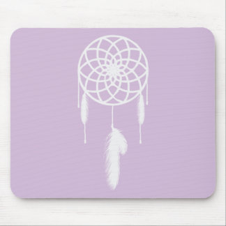 Pastel Purple Dream Catcher Mouse Pad