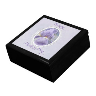 Pastel Purple Iris Mother's Day Gift Box