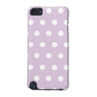 Pastel Purple Polka Dot iPod Touch (5th Generation) Case