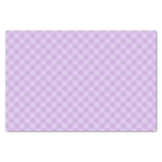 Pastel Purple Tartan Tissue Paper
