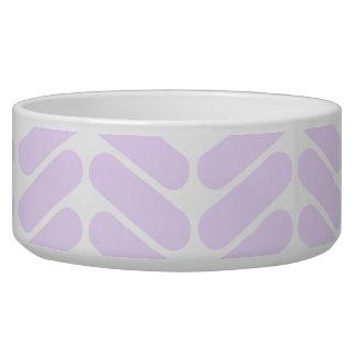 Pastel Purple Zigzag Pattern inspired by Knitting.