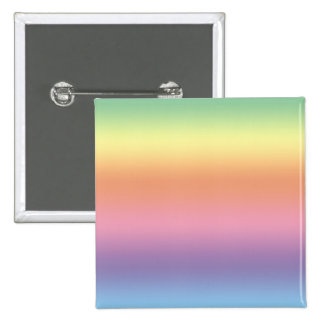 Pastel Rainbow 15 Cm Square Badge