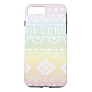 Pastel Rainbow Aztec Design Phonecase iPhone 8 Plus/7 Plus Case