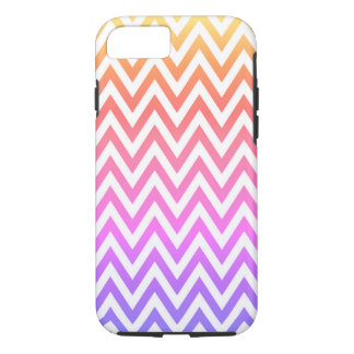 Pastel Rainbow Chevron iPhone 8/7 Case