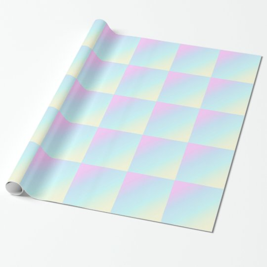 PASTEL RAINBOW COLORFUL GRADIENTS BACKGROUNDS WALL WRAPPING PAPER