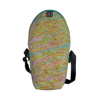Pastel Rainbow Colours Scribbles Bags Commuter Bags