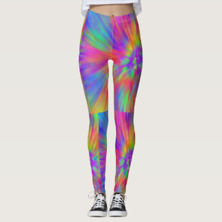 pastel rainbow leggings