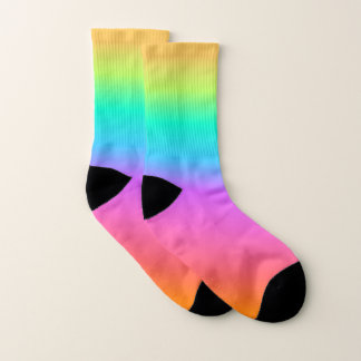 Pastel Rainbow Socks
