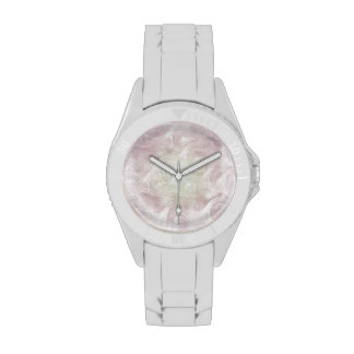 Pastel Rainbow Swirlings Wrist Watches
