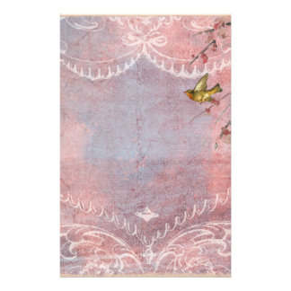 Pastel Rococo with Bird Stationery