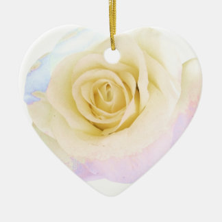 Pastel rose christmas ornaments