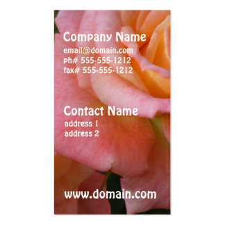 Pastel Roses Business Cards