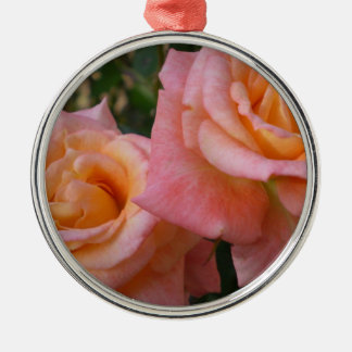 Pastel Roses  Ornament
