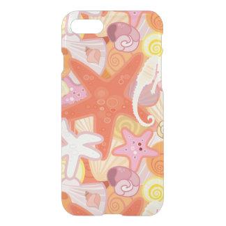 Pastel Sea Creature Pattern iPhone 8/7 Case