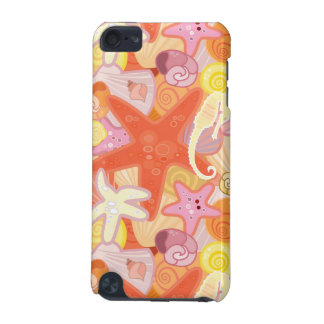 Pastel Sea Creature Pattern iPod Touch (5th Generation) Cases