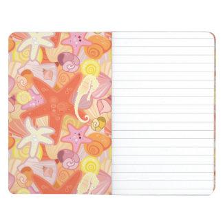 Pastel Sea Creature Pattern Journals