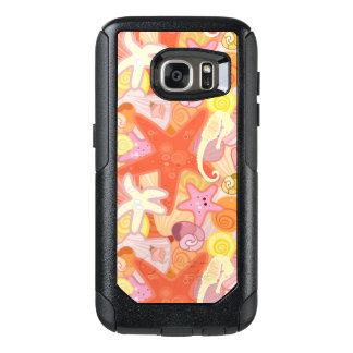 Pastel Sea Creature Pattern OtterBox Samsung Galaxy S7 Case