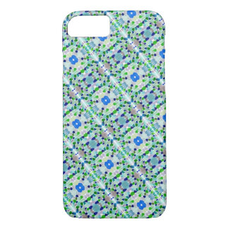 Pastel Sea Glass Mosaic Design Phone Case