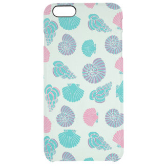 Pastel Seashell Pattern 1 Clear iPhone 6 Plus Case