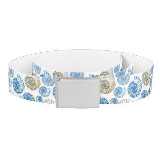 Pastel Seashell Pattern 2 Belt