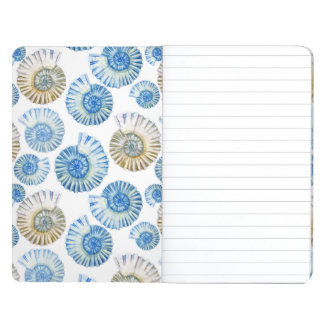 Pastel Seashell Pattern 2 Journal