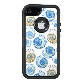 Pastel Seashell Pattern 2 OtterBox Defender iPhone Case