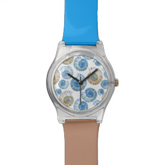 Pastel Seashell Pattern 2 Watch