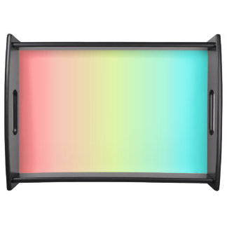Pastel Serving Tray Food Trays