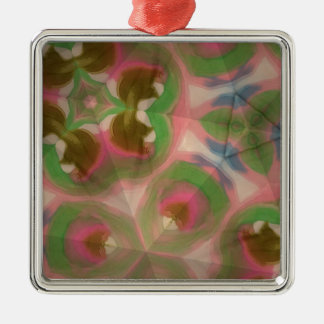 Pastel silk christmas ornaments