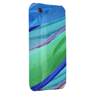 Pastel Silks Abstract iPhone3 Case Case-Mate iPhone 3 Case