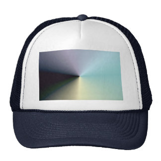 Pastel spiral gradient hat