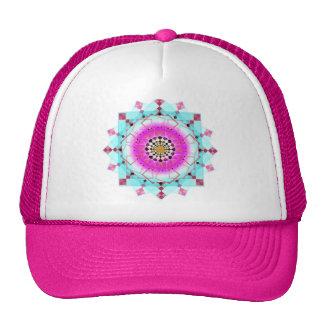 Pastel Spring desing Mesh Hats