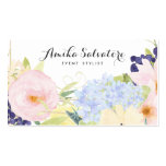 Pastel Spring Flowers Personalised Business Card