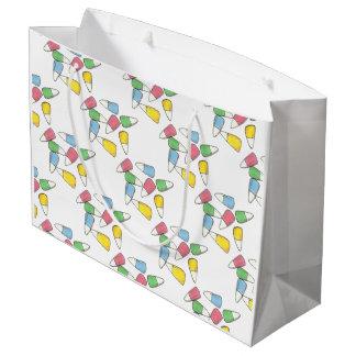 Pastel Spring Springtime Easter Candy Corn Bag
