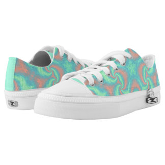 Pastel Star Mandala Printed Shoes