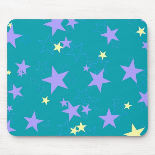 Pastel Star Mousepad
