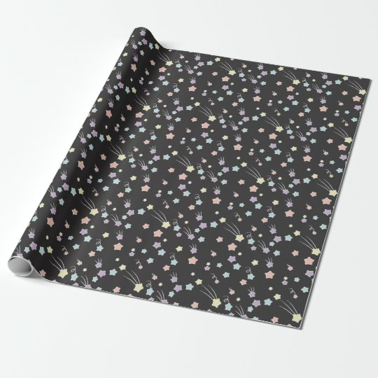 Pastel Stars Wrapping Paper