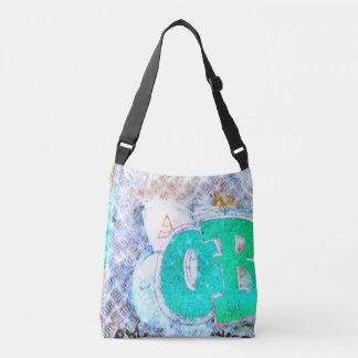 Pastel Street #17 All-Over-Print Cross Body Bag