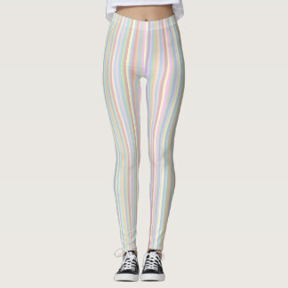 Pastel Stripe Leggings